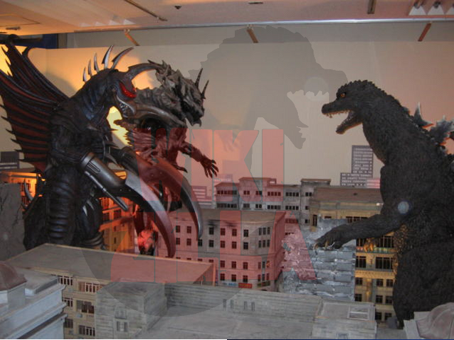 File:Suit and Puppet Museum - Godzilla, Monster X and Gigan.png