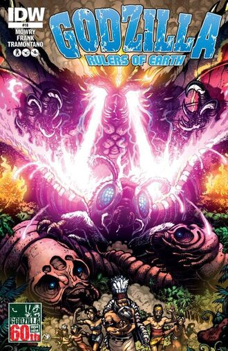 RULERS OF EARTH Issue 18 CVR A