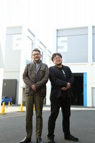 File:Hideaki Anno and Shinji Higuchi.jpg