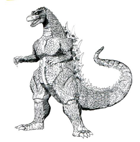File:Concept Art - Godzilla vs. Destoroyah - Godzilla Junior 10.png