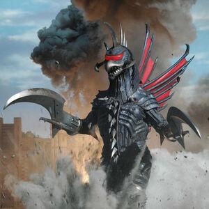 The FinalGigan as it is seen in Godzilla: Final Wars