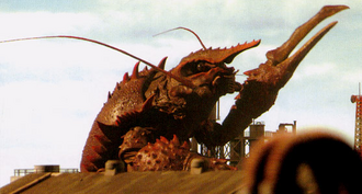 Ebirah in Godzilla: Final Wars (click to enlarge)