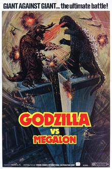 Godzilla vs. Megalon Poster United States