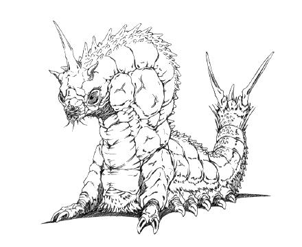 File:Concept Art - Godzilla vs. Mothra - Battra Larva 16.png
