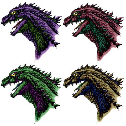 File:Concept Art - Godzilla 2000 Millennium - Godzilla Head 11.png