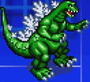 Gojira Godzilla Domination - Character Sprites - Godzilla