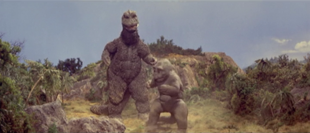 File:All Monsters Attack - SoshingekiGoji forces Minilla to fight.png