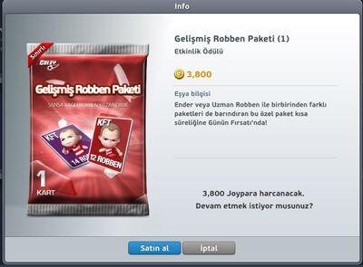 Gelişmiş Robben Paketi