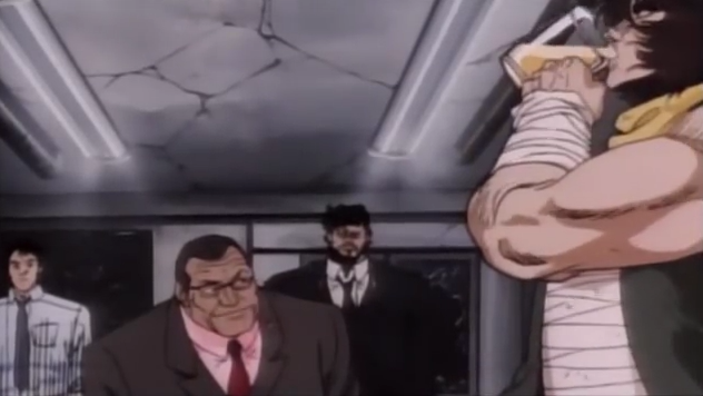 File:Taihei Shibaki With Violence Jack Drinking a Beer In Evil Town.png