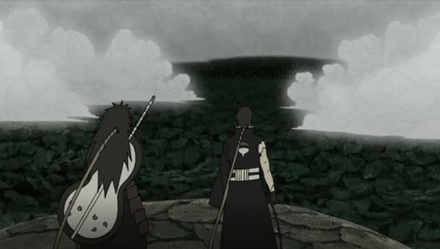 File:Madara and Obito faced by the Allied Shinobi Forces.png