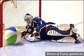 Beach Ball Goalie