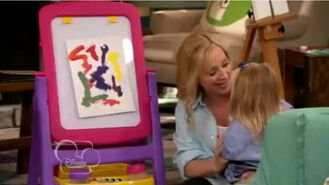 Charlie's painting