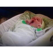 Baby Toby Yawning