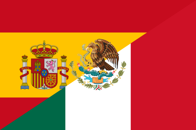File:Flag of Spain and Mexico.png