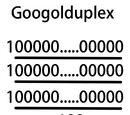 グーゴルプレックスプレックス