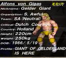 Alfons Von Gigas / Gigas Warrior