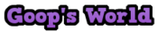 Goop World Logo