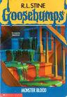 Goosebumps Monster Blood (Book)