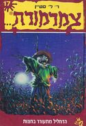 The Scarecrow Walks at Midnight - Hebrew Cover
