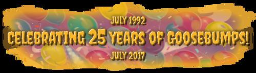 25 Years - Banner