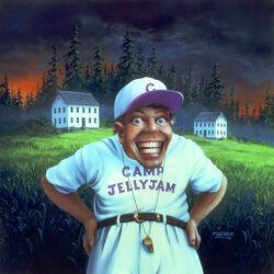 The Horror at Camp Jellyjam - artwork