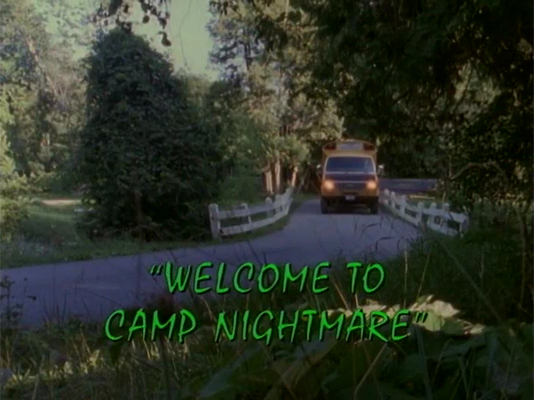 Welcome To Camp Nightmare Tv Episode Goosebumps Wiki