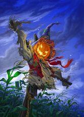The Scarecrow Walks at Midnight (Classic) - Original Illustration