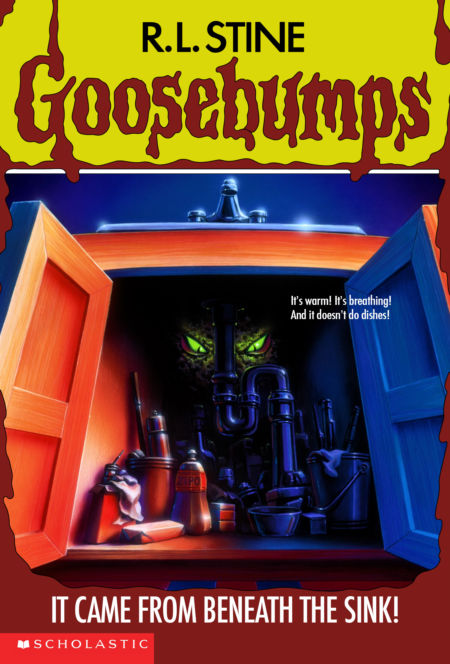 it came from beneath the sink goosebumps wiki fandom