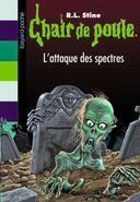 Attack of the Graveyard Ghouls - French Cover (Ver 3)