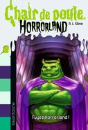Escape from HorrorLand - French cover
