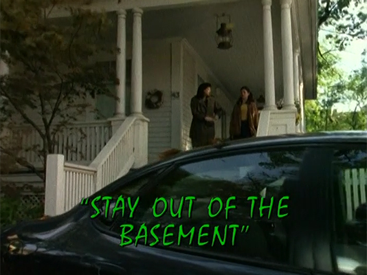 stay out of the basement tv episode goosebumps wiki fandom