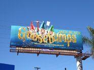 Goosebumps gnomes billboard