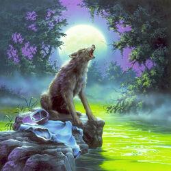 The Werewolf of Fever Swamp - Original Illustration