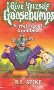 Secret Agent Grandma - UK Cover
