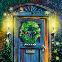 Happy Holidays from Dead House - artwork