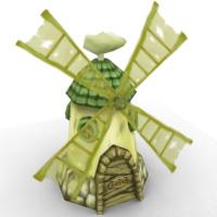 Village windmill