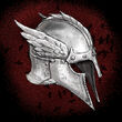 Crows Winged Helmet