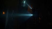 Bruce Wayne and Alfred Pennyworth walking down the secret passageway