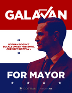 Theo Galavan campaign poster