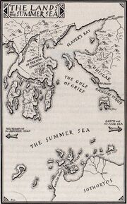 Map1-11 The Lands Of The Summer Sea AGOT
