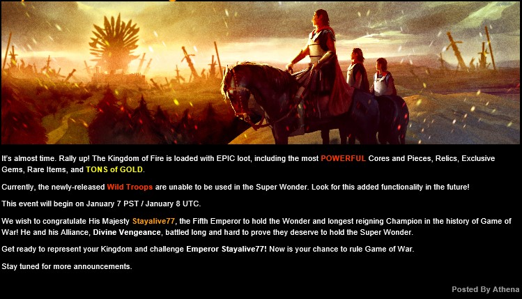Super Wonder Is Coming