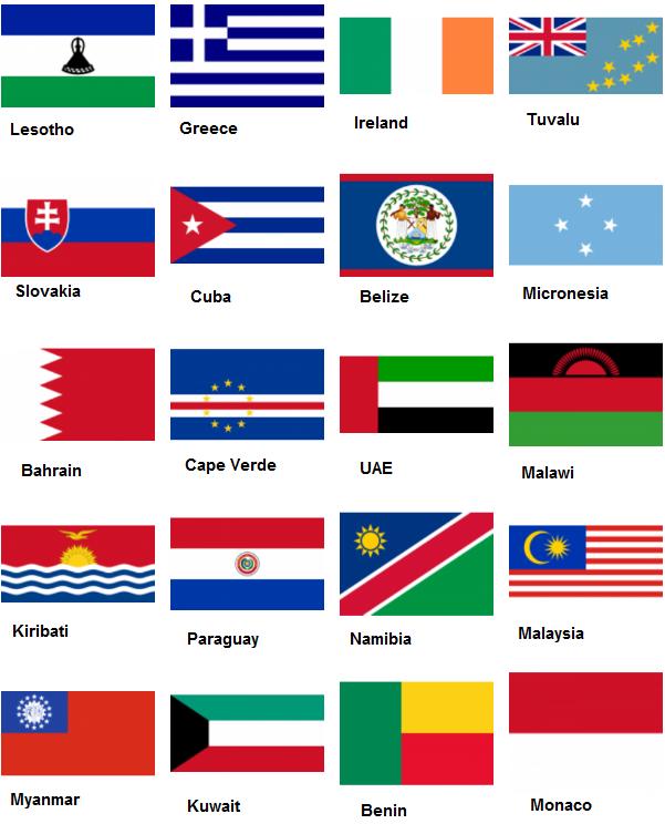 Country Flag Quiz Level 8