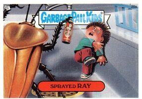 Sprayed Ray