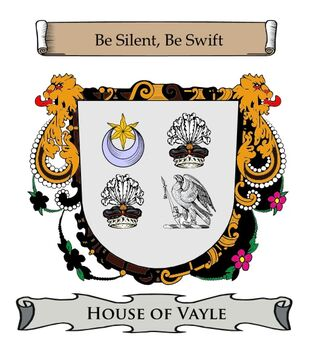 Vayle family crest