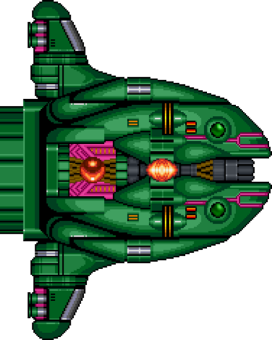 File:Space Manbow sprite. This was ripped by Rukifellth..png