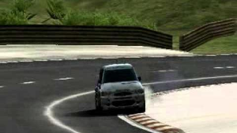 Gran Turismo PSP - Cathedral Rocks Trail 1 Ford Escort Rally Car ('98)