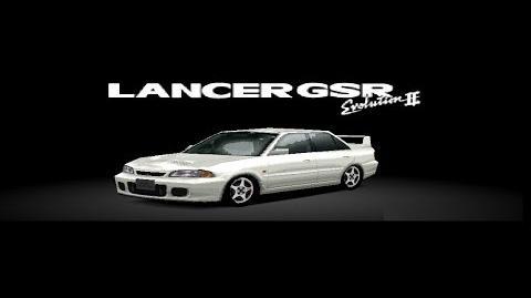 Gran Turismo 2 - Mitsubishi Lancer Evolution II HD Gameplay