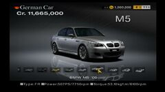 BMW M5 '05