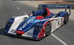 Audi R8 Race Car (Audi PlayStation Team ORECA) '05