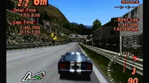 Gran Turismo 2 - Dodge Viper GTS - Midfield Raceway